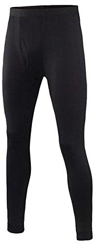 Terramar Men's Thermawool Climasense Pants, Smoke Heather, Large (36