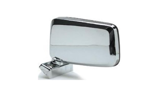 Alta MNN52C-L Nissan Pickup 720 Manual Replacement Driver Side Mirror - Mirror Drivers Side Chrome Manual