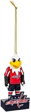 Washington Capitals, Mascot Statue Ornament Officially Licensed Decorative Ornament for Sports Fans