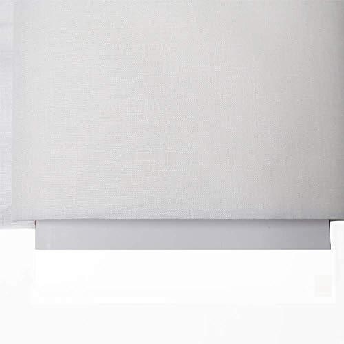 "Irish Handkerchief Linen, Estopilla- 35-36"" Wide, Over 100 Yards in Stock – 100% Irish Handkerchief Linen Fabric – Many Colors Available – White by Burlap Fabric (Image #3)"