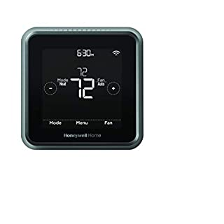 Honeywell Home RCHT8612WF T5 Plus Wi-Fi Touchscreen Smart Thermostat with 7 Day flexible programming and Geofencing Technology Black