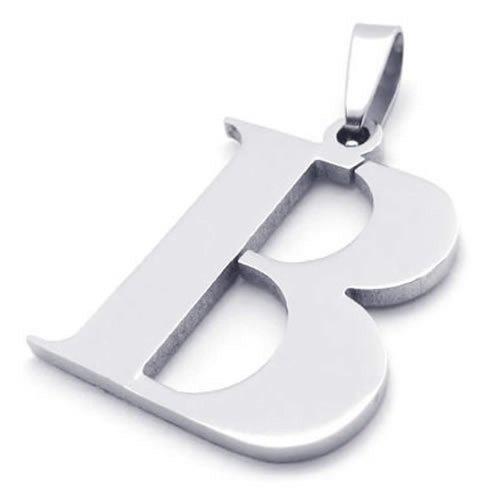 KONOV Initial Pendant Necklace Letters