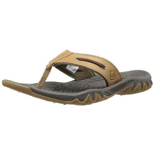 Sperry Top-Sider Men's Son-R Pulse Espadrille Sandal,Dark Brown,12 M US