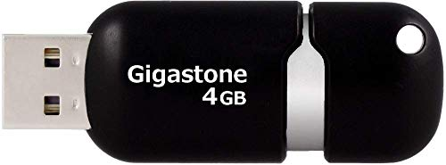 Gigastone 4GB USB 2.0 Flash Drive Black