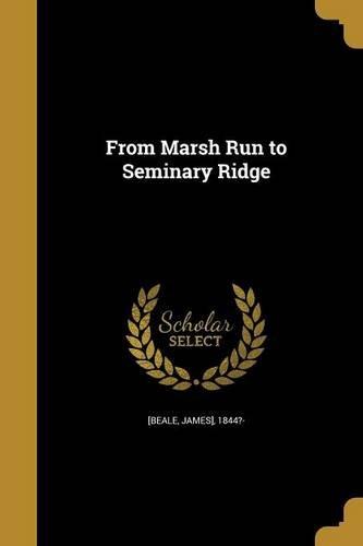 From Marsh Run to Seminary Ridge ebook