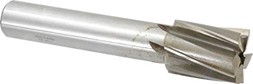 1-3/4'' Diam, 1-1/4'' Shank, Diam, 5 Flutes, Straight Shank, Interchangeable Pilot Counterbore pack of 2 by Value Collection