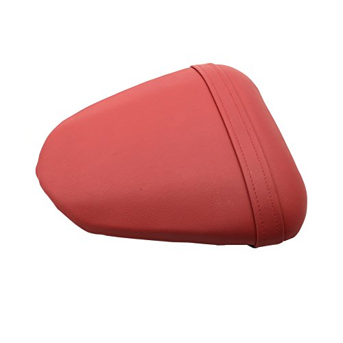 (Alpha Rider Motorcycle Red Rear Pillion Passenger Seat For Yamaha YZF R6 2008 - 2009)