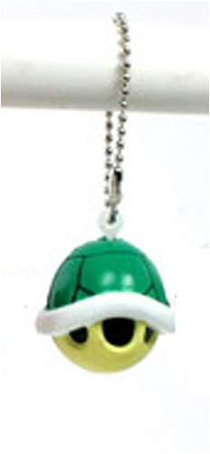 Super Mario Galaxy Funyu Mini Mascot Key Ring - Koopa Shell