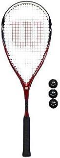 Wilson CS Muscle Raquette de Squash + 3 Balls