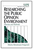 Researching the Public Opinion Environment : Theories and Methods, Ferguson, Sherry Devereaux, 0761915303