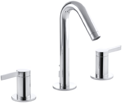 KOHLER K-942-4-CP Stillness Widespread Lavatory Faucet, Polished Chrome