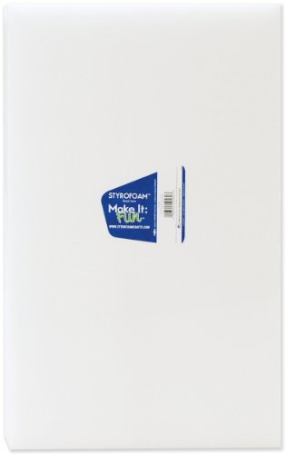 Styrofoam Block-18x12x1 (12 Inch Styrofoam Cone compare prices)