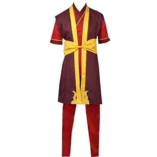 Adult Zuko Cosplay Costume Suit Custom Made (XL) -