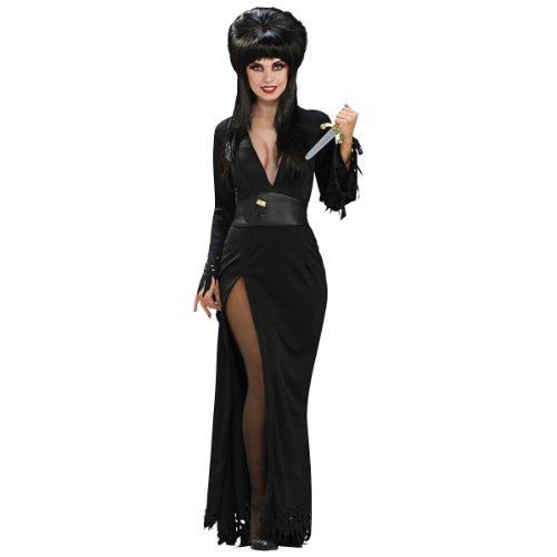 Elvira Mistress Of The Dark Deluxe Grand Heritage Collection Costume, Black, Small (Elvira Mistress Of The Dark Halloween Costumes)