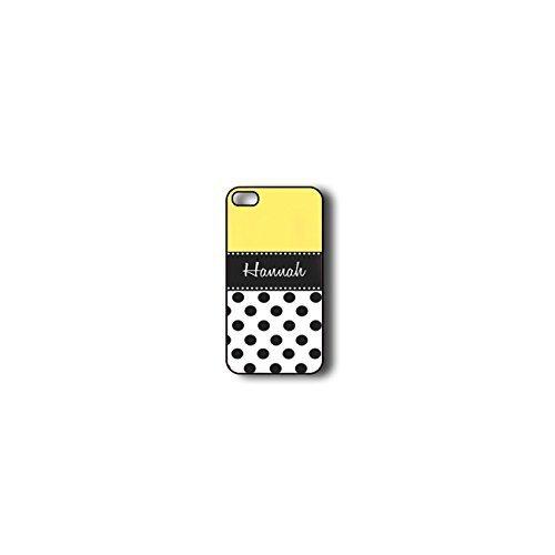 Krezy Case Monogram iPhone 4s Case, Colorful Chevron Pattern with polka dots Monogram iPhone 4s Case, Monogram...