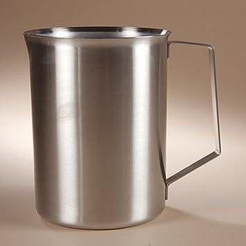 Amazon.com: Devine Medical Acero Inoxidable Vaso, 4000 ml ...