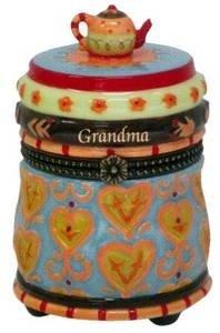 Grandma Fancies Limoges Style Box