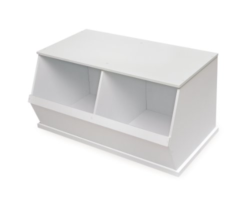 Badger-Basket-Company-Two-Bin-Storage-Cubby-White