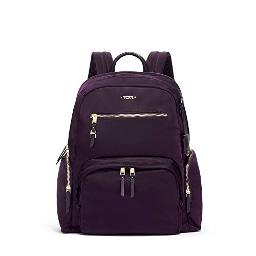 TUMI – Voyageur Carson Laptop Backpack – 15 Inch Computer Bag for Women – Blackberry