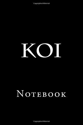 Koi: Notebook