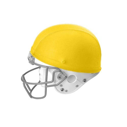 Martin Sports Dozen (12) Football/Hockey/Lacrosse Stretchable Helmet Covers (Yellow)