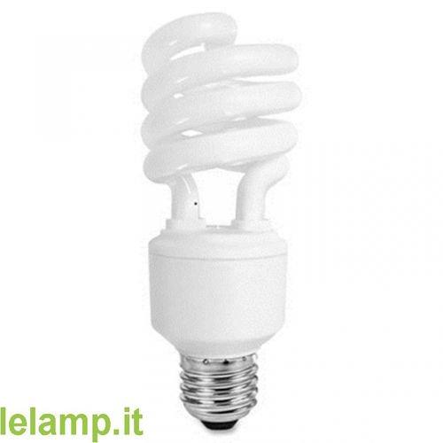 Kit economico 10 bombillas bajo consumo de Espiral y 27 15 W luz frí a LELAMP