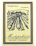 Home Brew Ohio Montepulciano Style Wine Labels