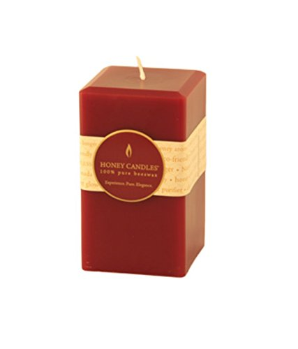Honey Candles Pure Beeswax Pillar 5
