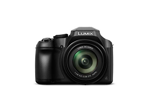 Panasonic LUMIX DC-FZ82EB-K Digital Bridge Camera with Ultra Wide 20-1200 mm Lens – Black