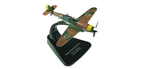 'Herpa 81ac010s Messerschmitt BF 109g–JG 7nowotny, Avril, 1945(sans Crochet Croix) Avion de Combat Oxford 81AC010S