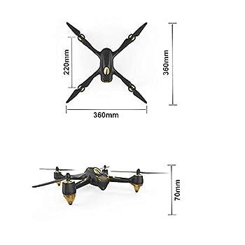 FidgetFidget Brushless GPS Quadcopter FPV1 Remote 1080P HD Camera for Hubsan H501S X4 PRO FPV