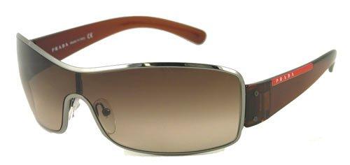 Amazon.com: Prada anteojos de sol Sport SPS 52E café 5 AV ...