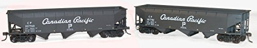 Accurail Canadian Pacific AAR 70 Ton Offset 3-bay Hopper Set Kit