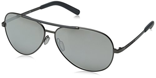 D&G Dolce & Gabbana Mens 0DG2141 Aviator Sunglasses, Matte Gunmetal, 61 - D And Aviator Sunglasses G