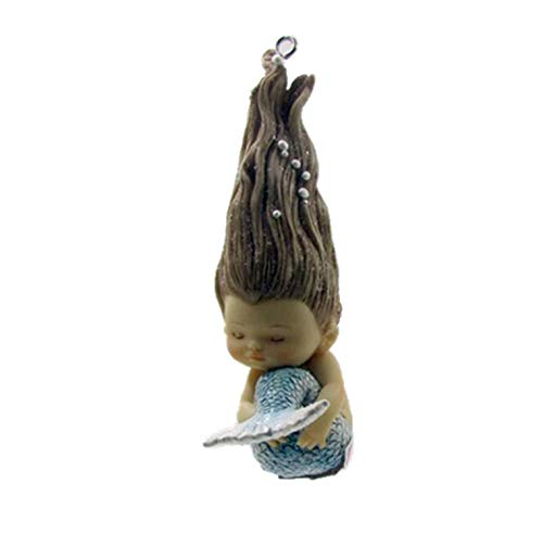 (JIA-WALK Home Hanging Ornaments Cute Mermaid Aquarium Decoration Angel Figurine Fairy Garden Hanging Decor,Z12409A10A11A)