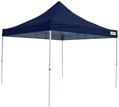 Caravan Canopy M-Series 2 Pro 10 X 10 Foot Straight Leg Canopy Kit, Navy Blue