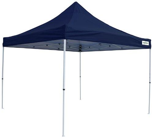 10' Shade Series - Caravan Canopy M-Series 2 Pro 10 X 10 Foot Straight Leg Canopy Kit, Navy Blue