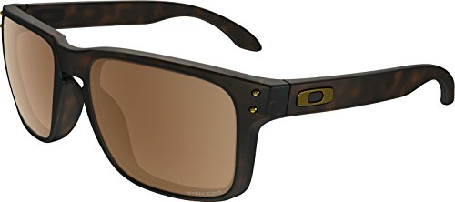 Oakley Men's Holbrook Sunglass, Matte Tortoise/Prizm Tungsten - Brown Oakley Sunglasses