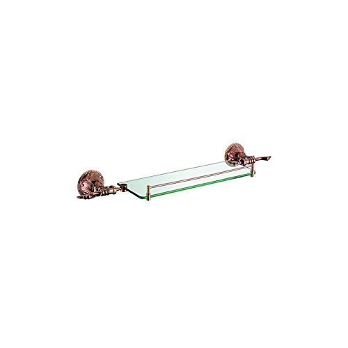 - ULING GS0526-1 Single Glass Shelf Bathroom Hardware