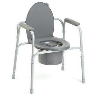Invacare All-In-One-Commode - Coated Steel Frame by Invacare