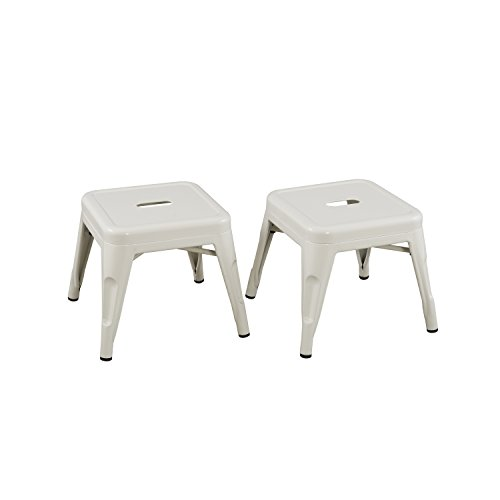 Reservation Seating Kids Steel Stool, White, One Size ()