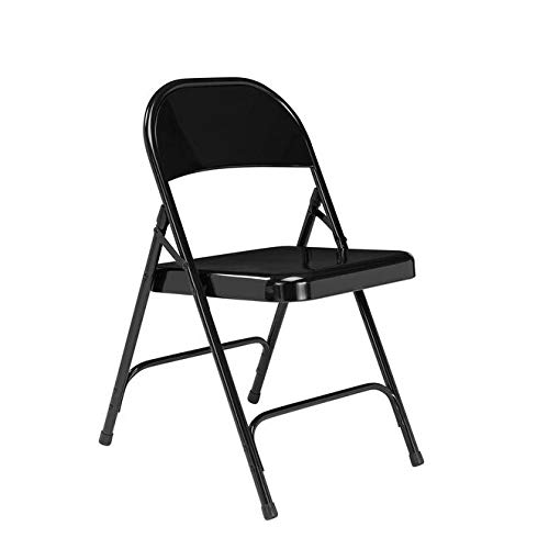 - National Public Seating NPS Standard Steel Folding Chairs (Pack of 100) Black