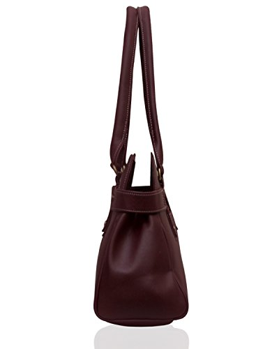 Fostelo Women's Jessy Stylish Handbag (Maroon) (FSB-391)