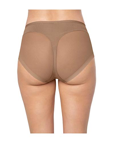 7c88635955955 Leonisa Women's Super Comfy Control Shapewear Panty, Brown, Medium