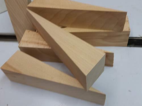 6Grands bois dur cales 170x 60x 50mm