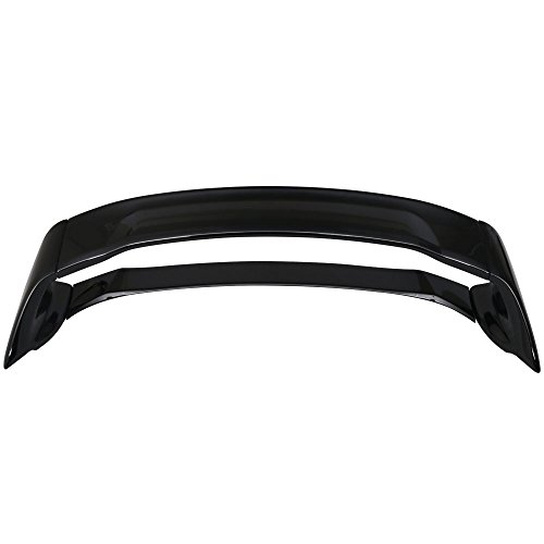 Pre-painted Trunk Spoiler Fits 2012-2015 Honda Civic | ABS #NH731P Crystal Black Pearl Boot Lip Rear Spoiler Wing Deck Lid Other Color Available By IKON MOTORSPORTS | 2013 - Civic Honda 4dr Crystal