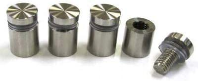 Standoff x 3//4L Pack of 15 Stainless Steel 3//4 Dia