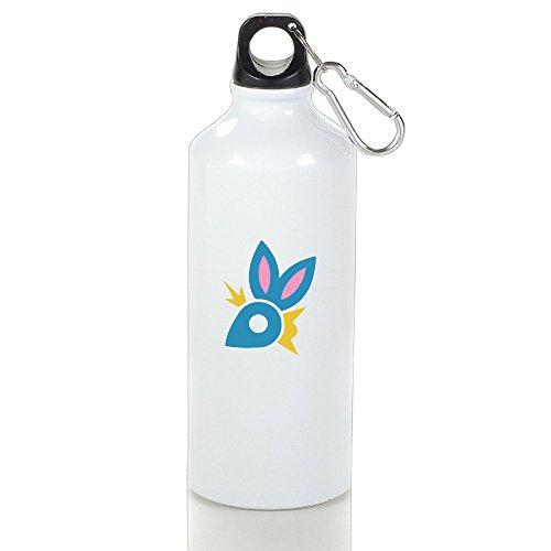 Easten Zadiac Animals Rabbit Aluminum Outdoor Water Bottle For Camping