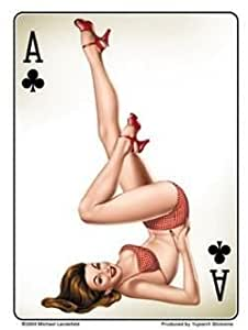 Topic Playing cards of naked girls are