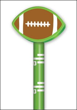 Doodle Dudes Pencil - Stephen Joseph Doodle Dudes Pencil - Football